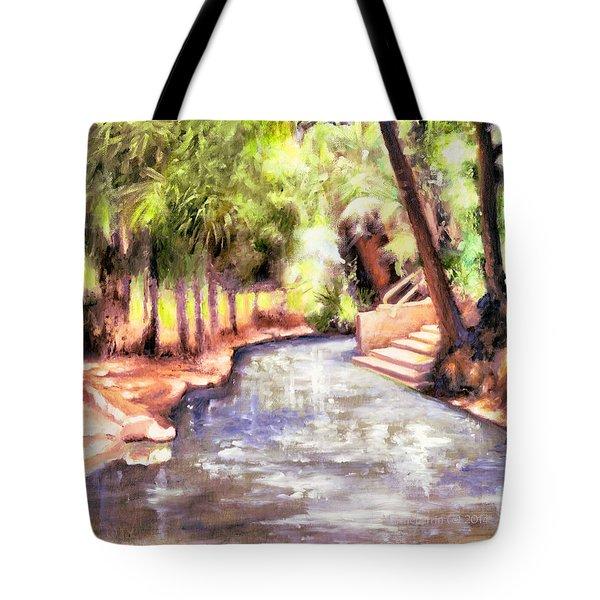 Mataranka Hot Springs Tote Bag