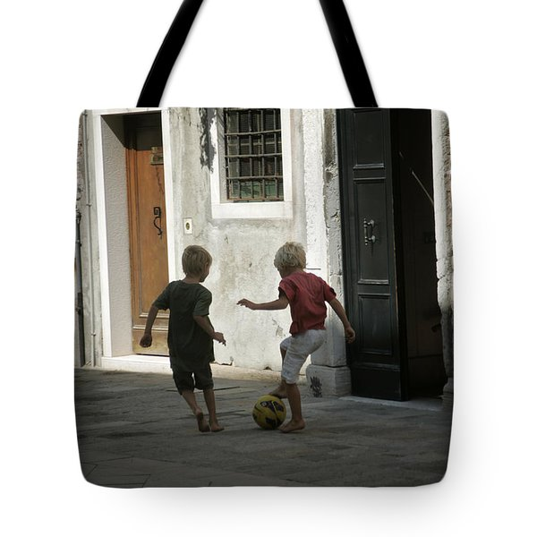 Match Of The Day Tote Bag