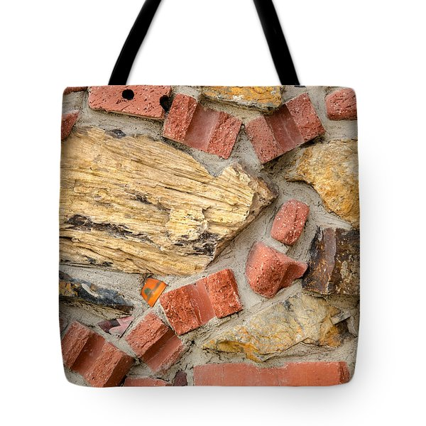 Tote Bag featuring the photograph Materials Abstract by Sue Smith