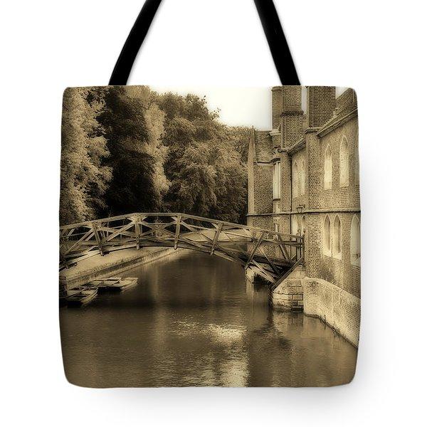 Mathematical Bridge Tote Bag