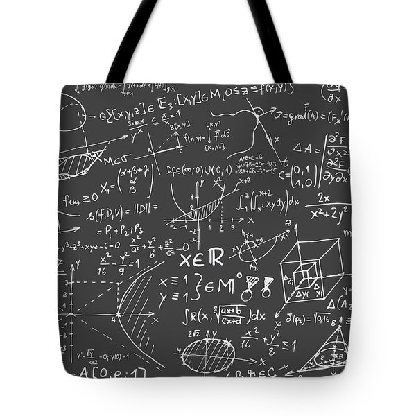 Maths Blackboard Tote Bag
