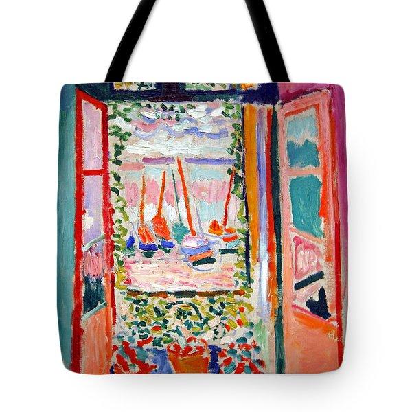 Matisse's Open Window At Collioure Tote Bag