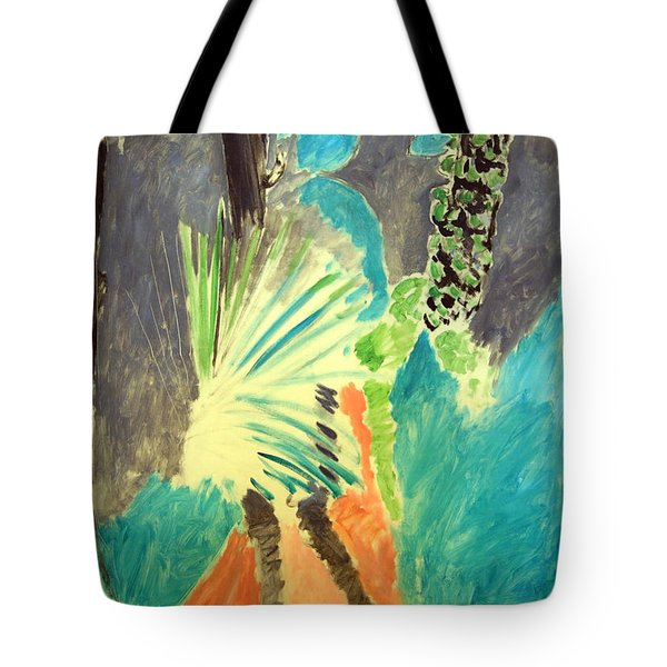 Matisse's Palm Leaf In Tangier Tote Bag by Cora Wandel