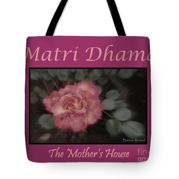Matri Dhama Design 5 Tote Bag