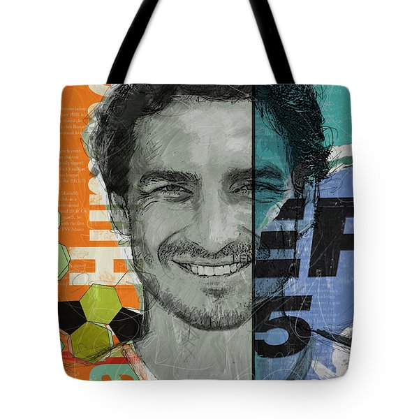 Mats Hummels - B Tote Bag by Corporate Art Task Force