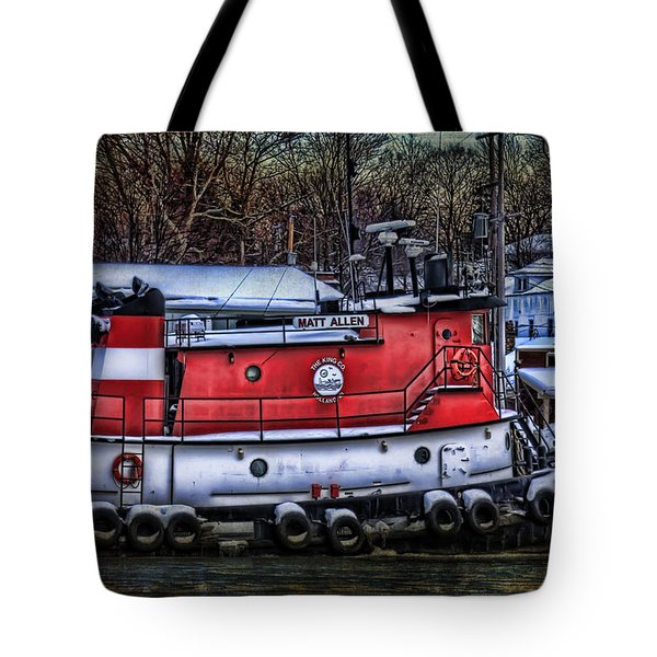 Matt Allen In Saugatuck Michigan Tote Bag