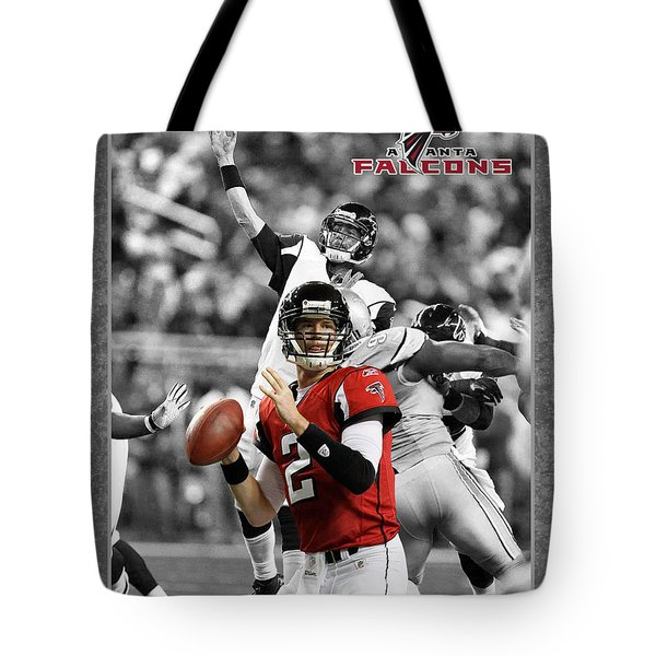 Matt Ryan Falcons Tote Bag
