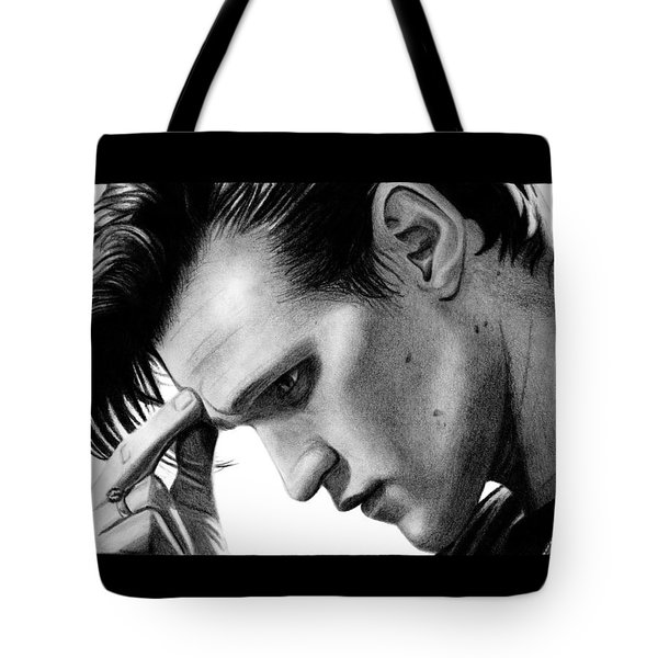 Matt Smith - The 11th Doctor Tote Bag by Kayleigh Semeniuk