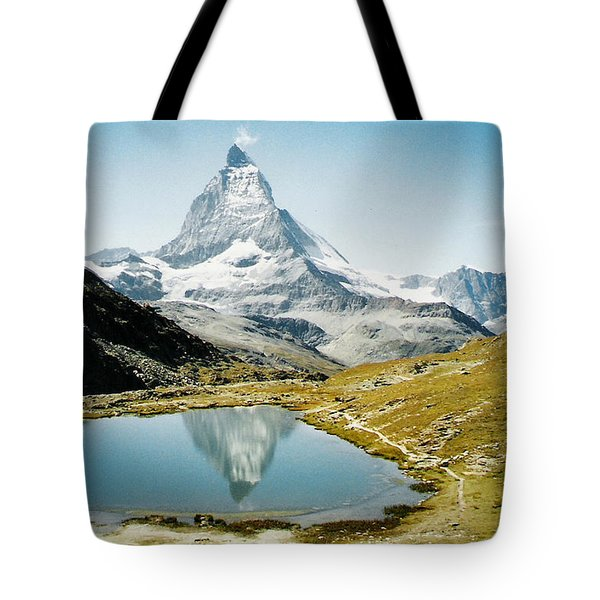 Matterhorn Cervin Reflection Tote Bag