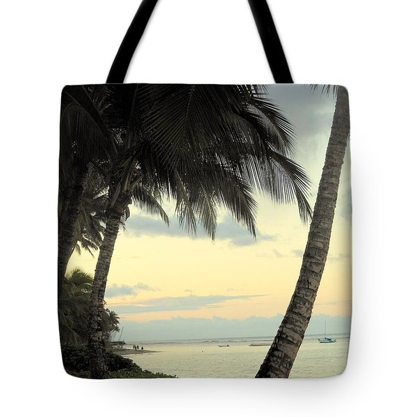 Tote Bag featuring the photograph Maui Morning by Fred Wilson
