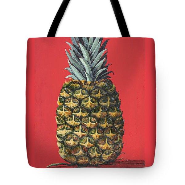 Maui Pineapple 2 Tote Bag by Darice Machel McGuire