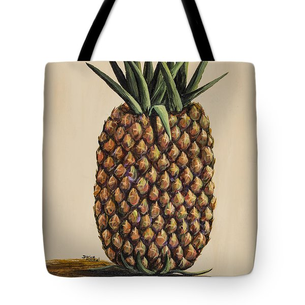 Maui Pineapple 3 Tote Bag