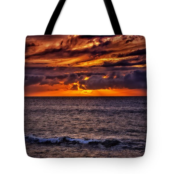 Maui Sunset Tote Bag