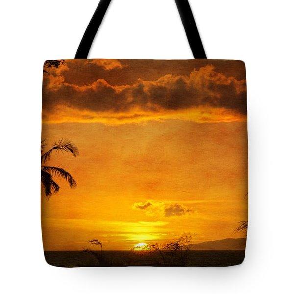 Maui Sunset Dream Tote Bag