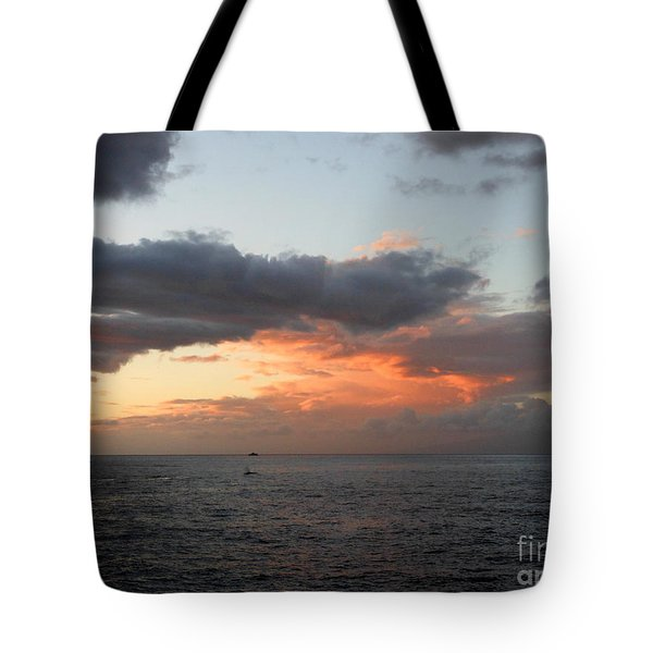 Tote Bag featuring the photograph Maui Sunset by Fred Wilson