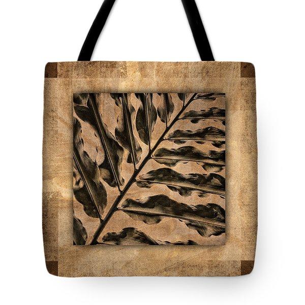 Maui Tropic Brown Tote Bag