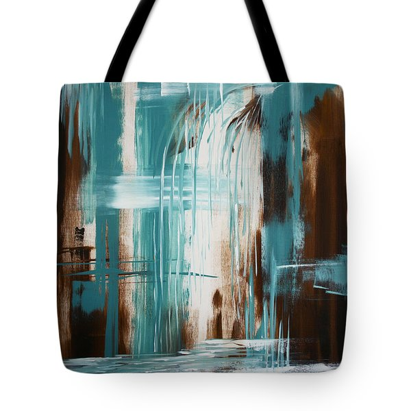Waterfall In Paradise Tote Bag