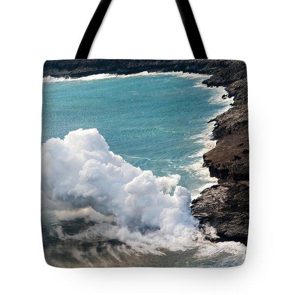 Mauna Loa Tote Bag