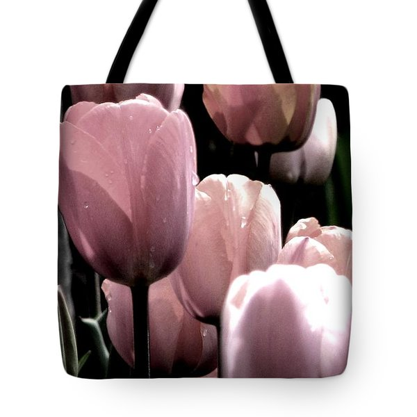 Mauve In The Morning Tote Bag