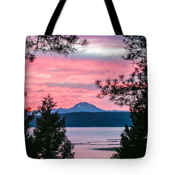 Tote Bag featuring the photograph Mauve Magnificence by Jan Davies