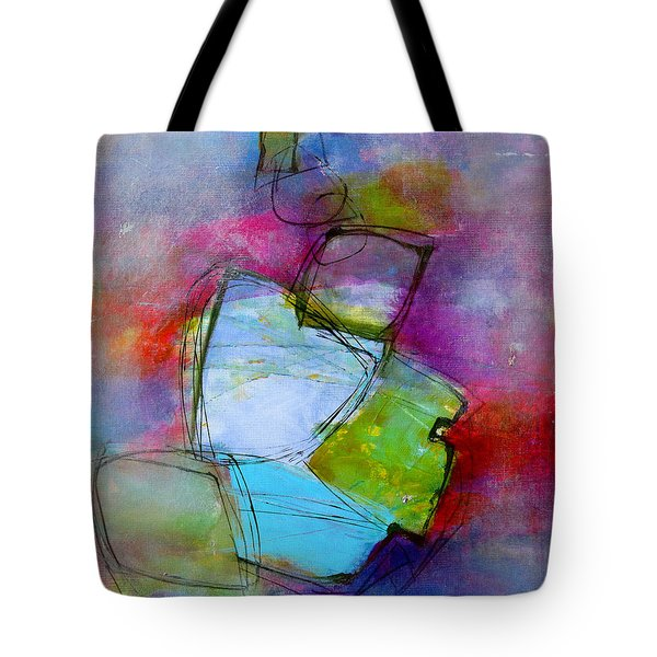 Tote Bag featuring the painting Maverick by Katie Black