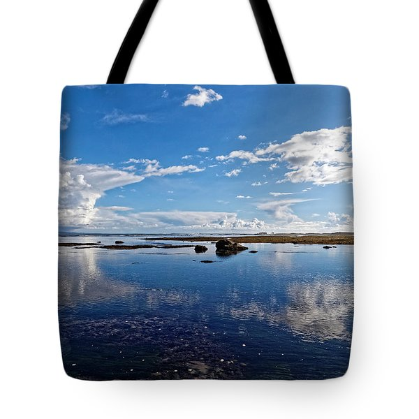 Mavericks Beach Tote Bag