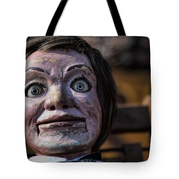 Tote Bag featuring the photograph Max by John Crothers