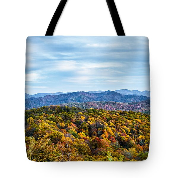 Max Patch Bald Tote Bag