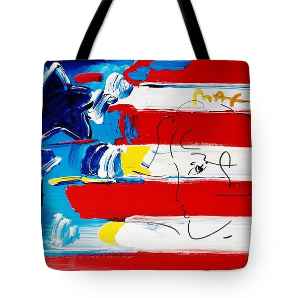 Max Stars And Stripes Tote Bag