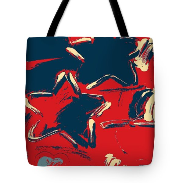 Max Two Stars In Hope Tote Bag by Rob Hans