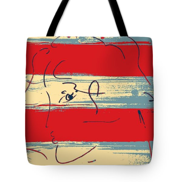Max Woman In Hope Tote Bag by Rob Hans