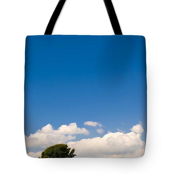 Maximum Blue Tote Bag