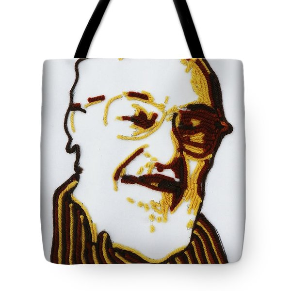 Tote Bag featuring the painting Max's Portrait by PainterArtist FINs husband Maestro