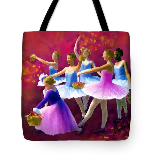May Dancers Tote Bag by Ric Darrell