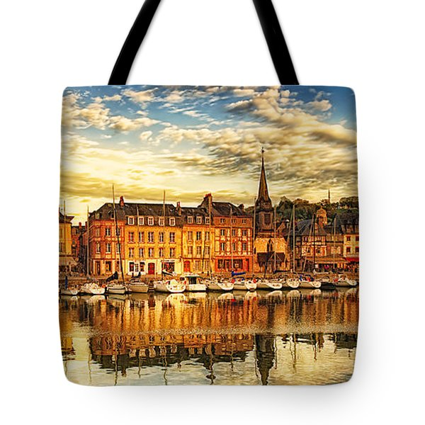 Tote Bag featuring the photograph May Evening Honfleur by Jack Torcello