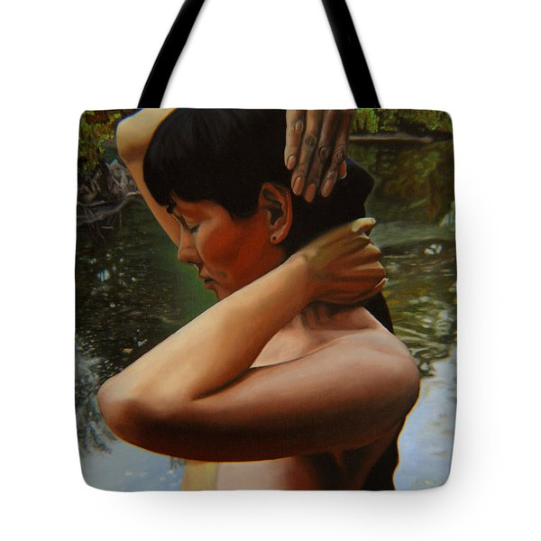 May Morning Arkansas River 3 Tote Bag