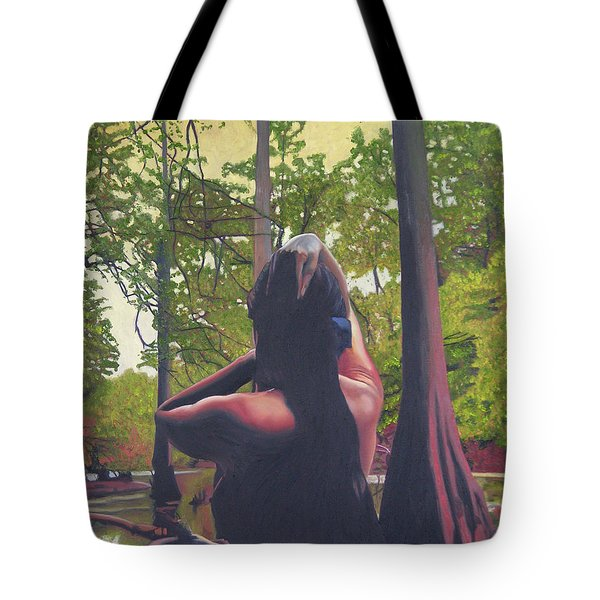 May Morning Arkansas River 5 Tote Bag