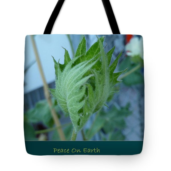 May Peace On Earth Tote Bag by Lingfai Leung