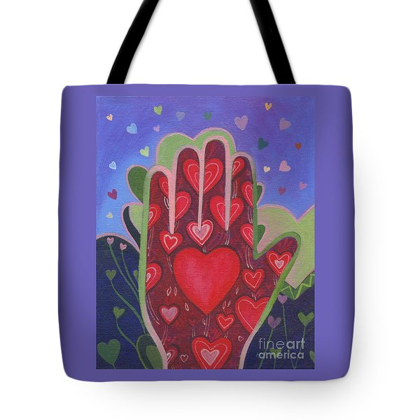 May We Choose Love Tote Bag