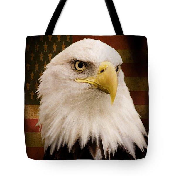 May Your Heart Soar Like An Eagle Tote Bag by Jordan Blackstone