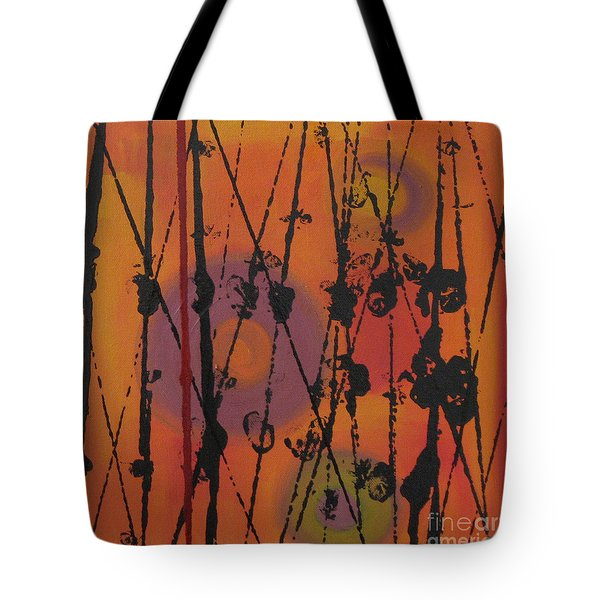 Tote Bag featuring the painting Maya 1 by Mini Arora
