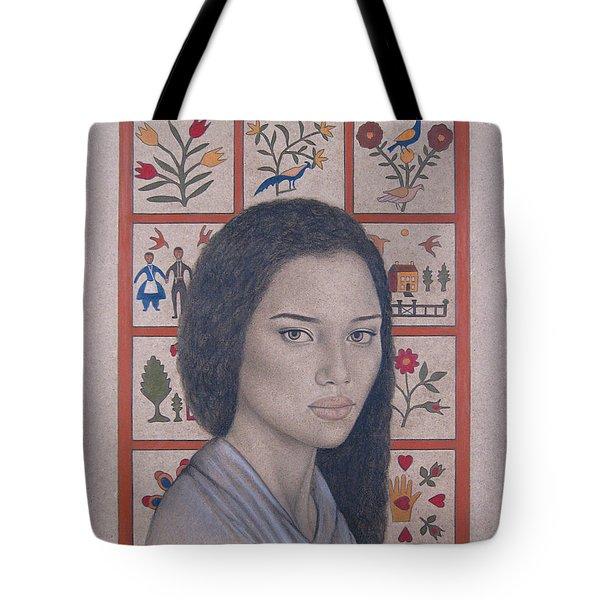Maya Tote Bag by Lynet McDonald