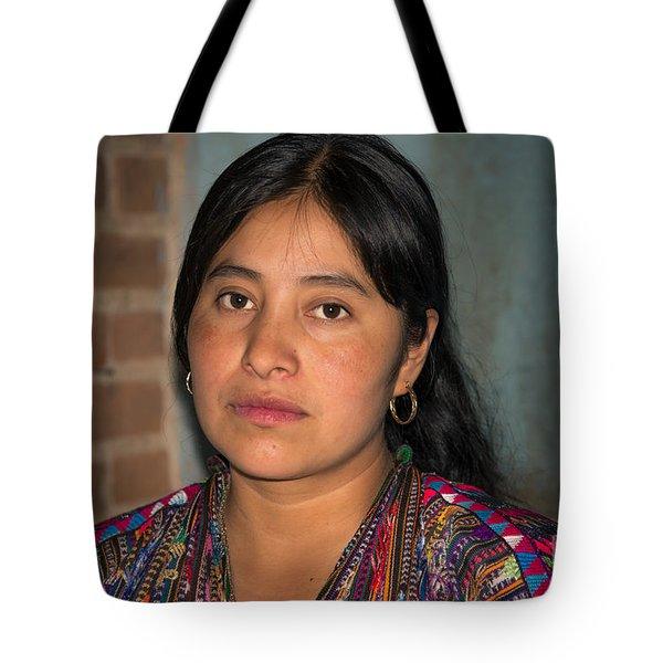 Mayan Girl Tote Bag