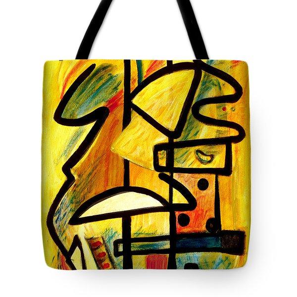 Mayan Tote Bag by Stephen Lucas