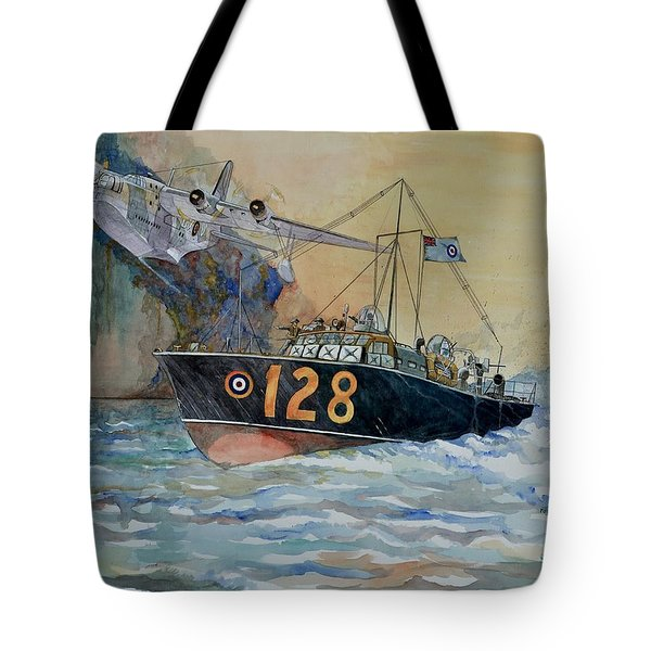 Mayday Mayday Tote Bag by Ray Agius