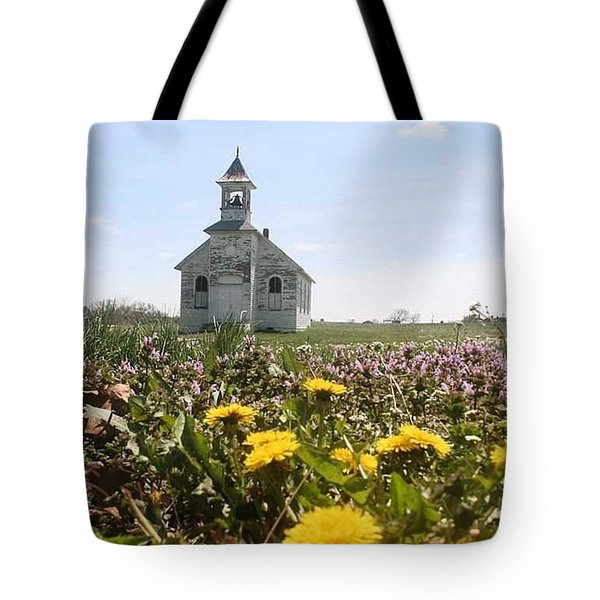 Mayflower Church Tote Bag by PainterArtist FIN