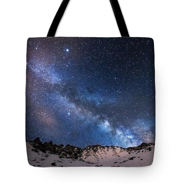 Mayflower Gulch Milky Way Tote Bag