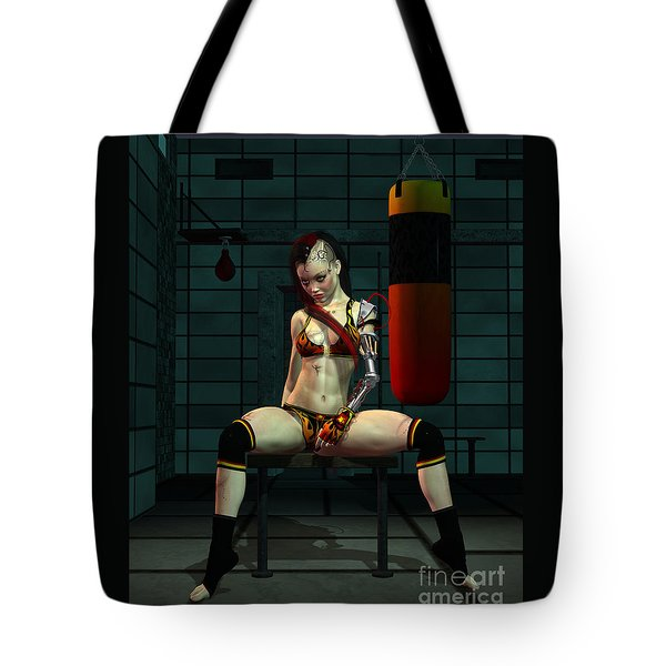 Mayhem Mags Tote Bag