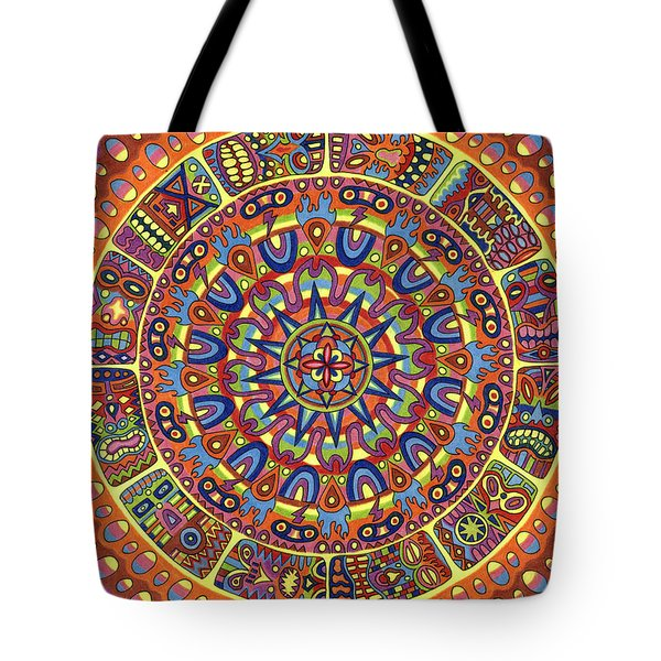 Mayhem Tikis Tote Bag by Chris  Rolling