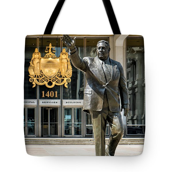 Mayor Frank L. Rizzo Monument Tote Bag